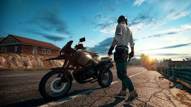 PUBG Xbox One Preview Bike