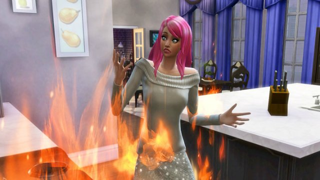 Sims 4 How to Put Out a Fire: Cheats to Extinguish the Flames
