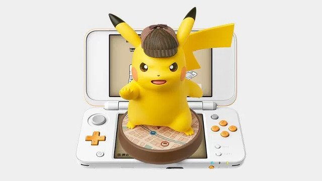 Detective Pikachu features a massive Amiibo for western release