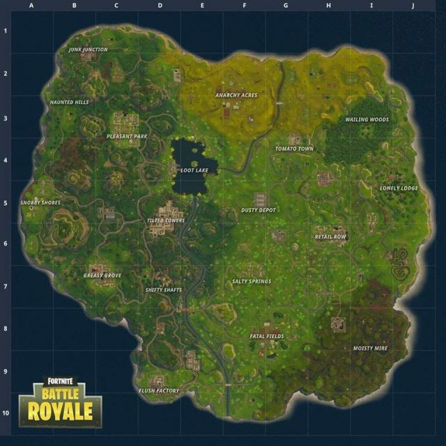 Fortnite Battle Royale New Map Patch 2.2