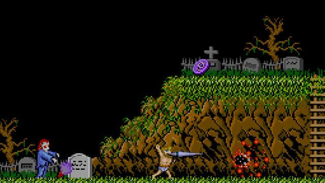 Ghosts 'n goblins Mario NES