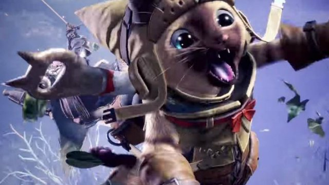 Monster Hunter World Palico Gadgets
