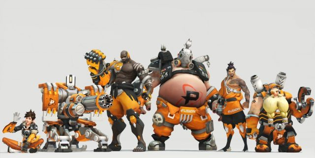 Overwatch League Teams Philadelphia Fusion