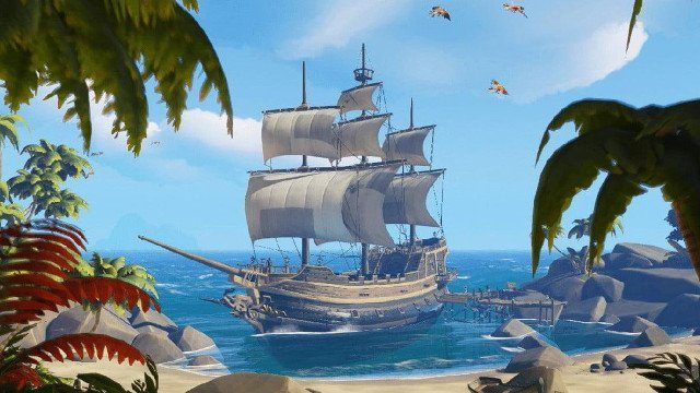 sea of thieves how to sail