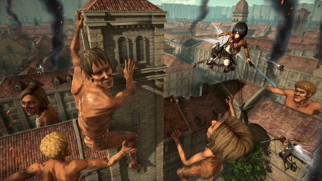 attack on titan offline multiplayer mod apk