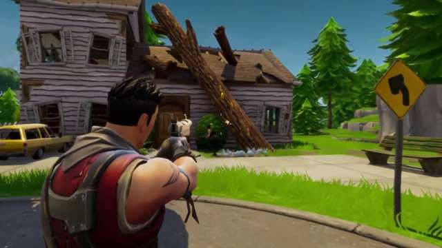 Fortnite Dusty Depot Treasure Map Find The Big Fortnite Chair And Loot