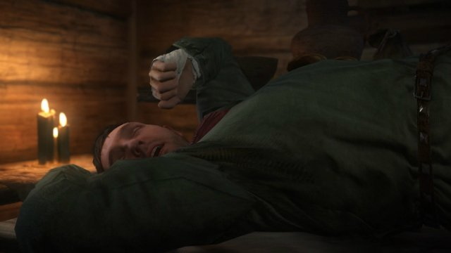 Kingdom Come Deliverance Henry Sleeping