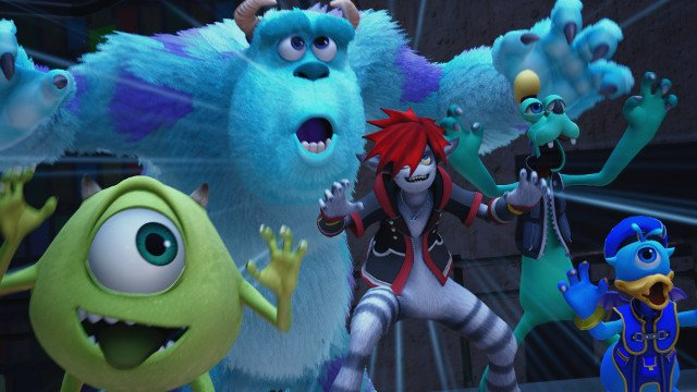 Kingdom Hearts 3 D23 Expo trailer reveals new Monsters, Inc