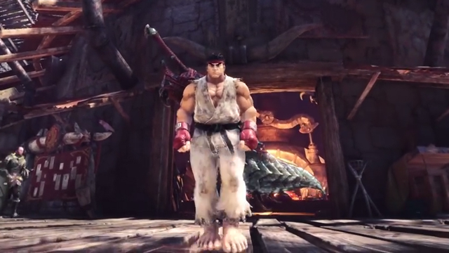 Monster Hunter World Street Fighter Event Quest How To Get Ryu And