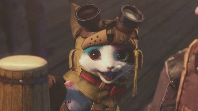 Monster hunter World Palico Plunder Blade
