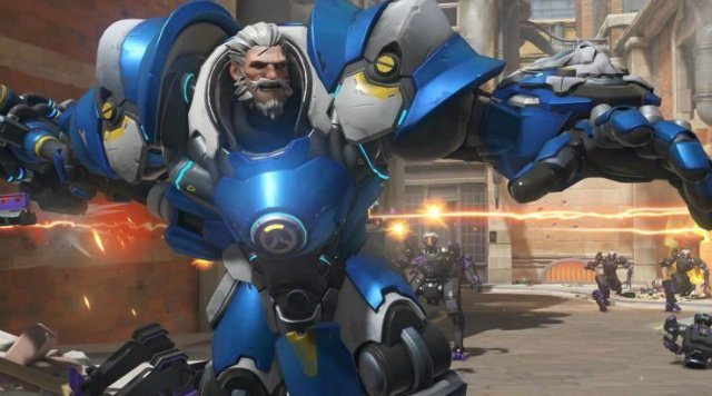 Overwatch Reinhardt New Hero