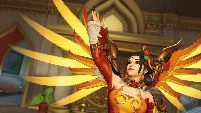 Overwatch Year of the Dog New Skins Revealed: White Tiger Genji, Red Phoenix Mercy, and More