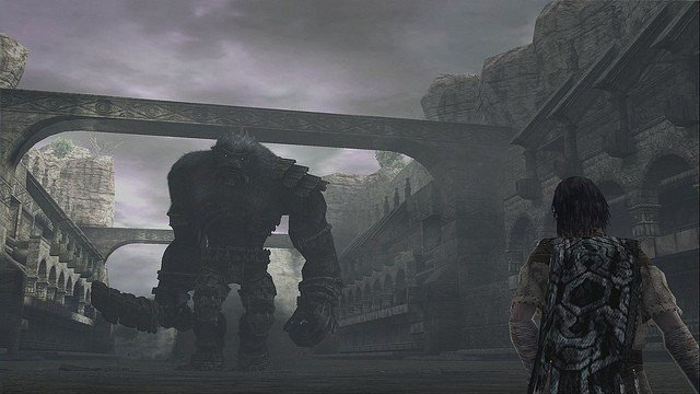 <em>Shadow of the Colossus</em> Fifteenth Colossus