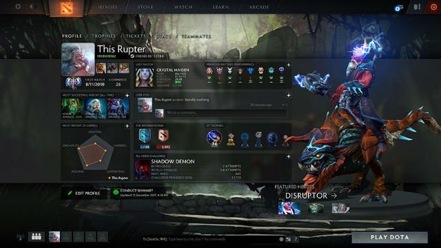 Searching for Dota 2 Game Coordinator Error
