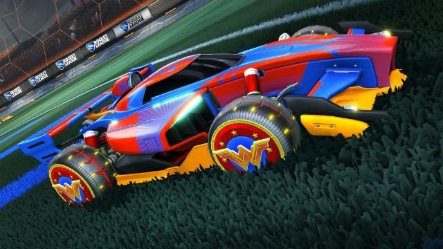 Rocket League is getting some awesome DC Super Heroes DLC