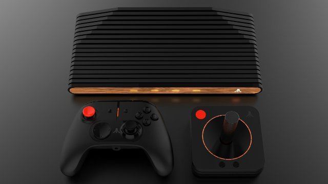 Atari VCS Console and Controllers