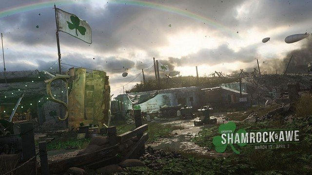 CoD WW2 1.11 Shamrock and Awe Headquarters