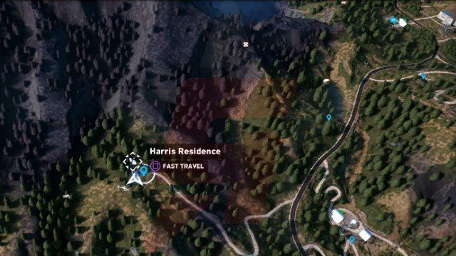 Far Cry 5 Harris Residence Lighter Location