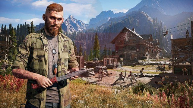 Far Cry 5 Jacob Seed
