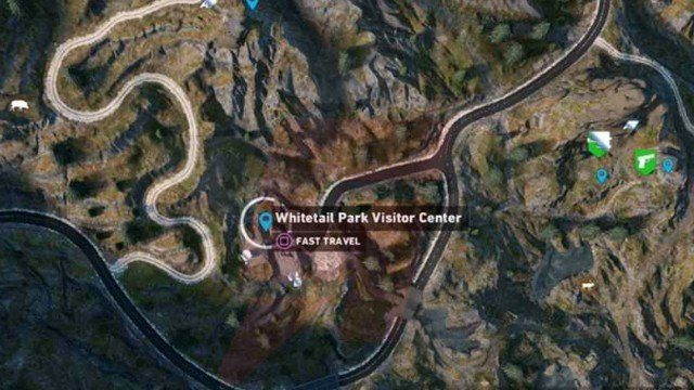 Far Cry 5 Whitetail Park Lighter Location