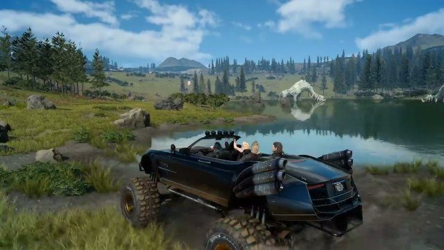 Final Fantasy 15 Windows Edition Review Regalia D