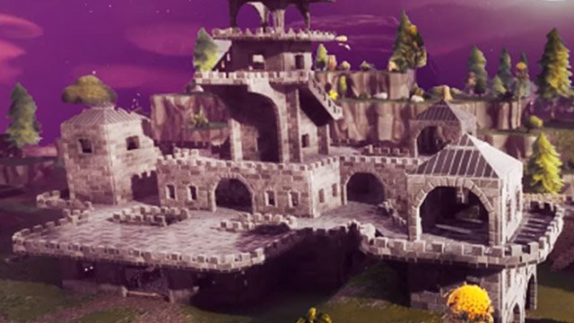Fortnite Captive Castle