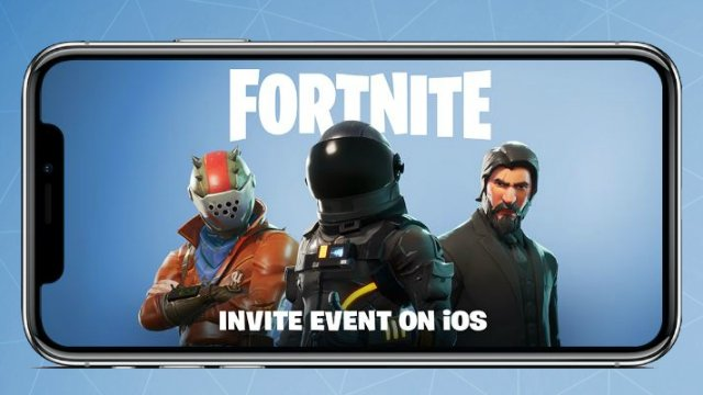 Fortnite iOS Invites