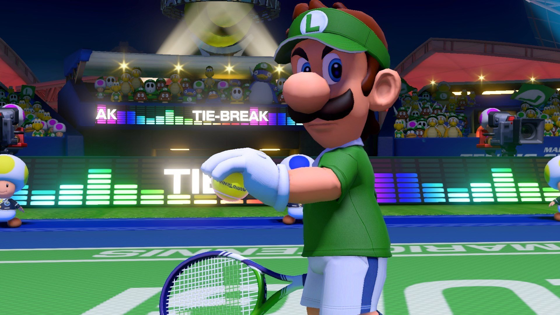 Mario Tennis Aces Reveals Release Date Characters Tricks
