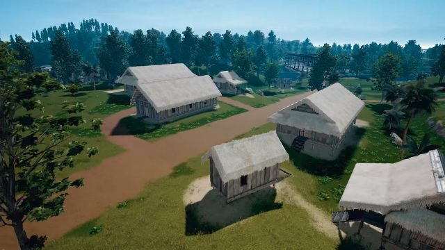 PUBG 4x4km Map Buildings