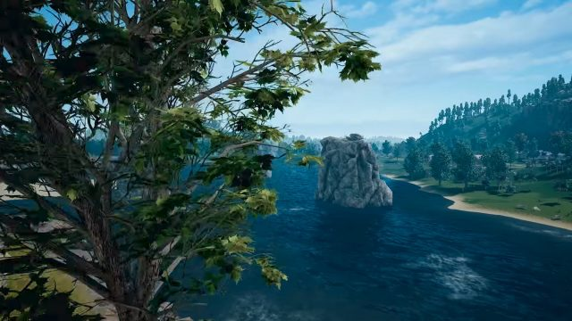 PUBG 4x4km Map Water