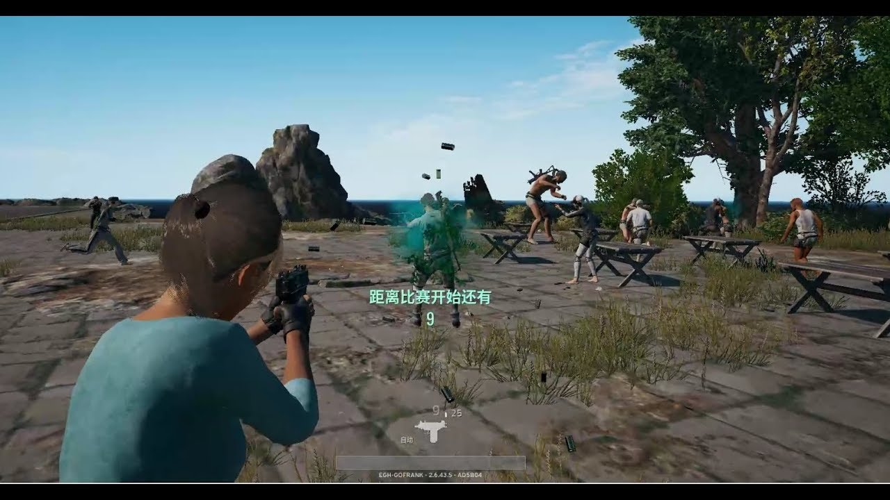 PUBG Green Blood