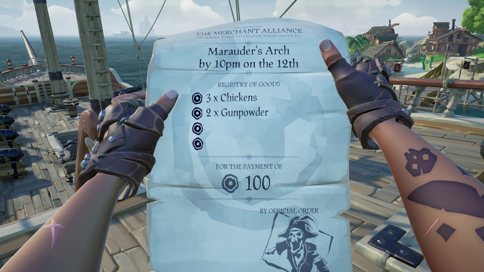 Sea of Thieves Not Getting Reputation