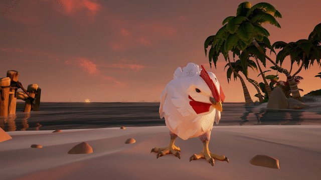 sea of thieves chickens