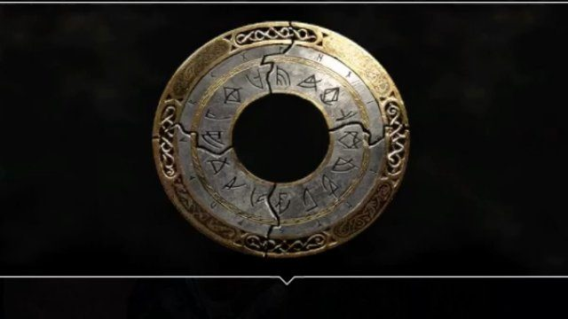 God of War Muspelheim Cipher Pieces Travel Rune