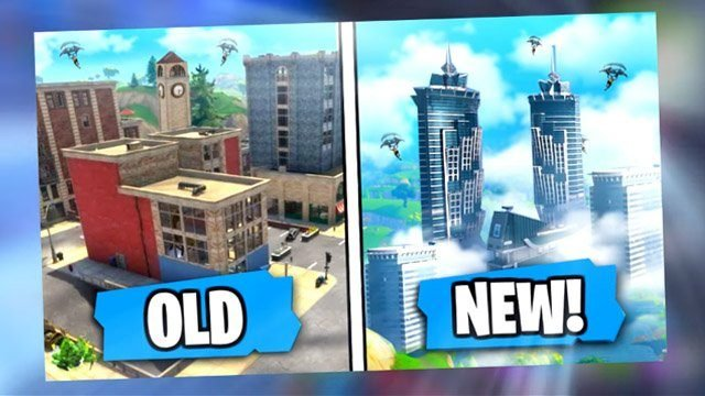 09f389b2f9 ... believe that Tilted Towers is set to be replaced, possibly with the use  of a comet, but also potentially by a re-imagined Fortnite Soaring  Skyscrapers ...