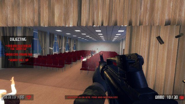 New Video Game Simulates School Shooting