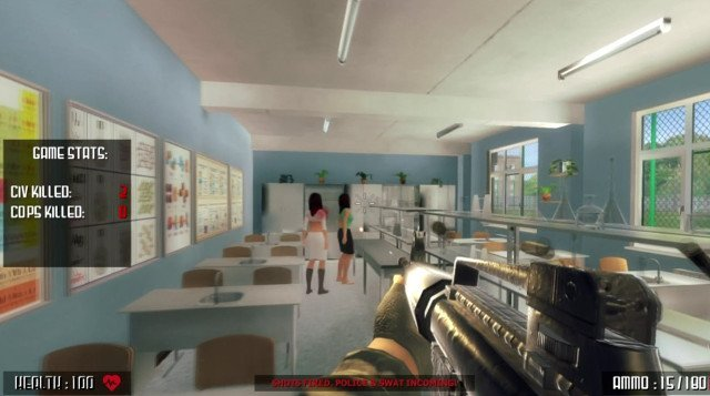 'Active shooter' video game prompts outrage in wake of mass shootings