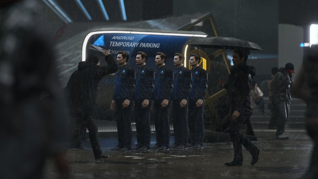 Detroit: Become Human PC review androids