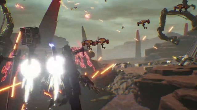 Daemon X Machina Blasting onto Switch