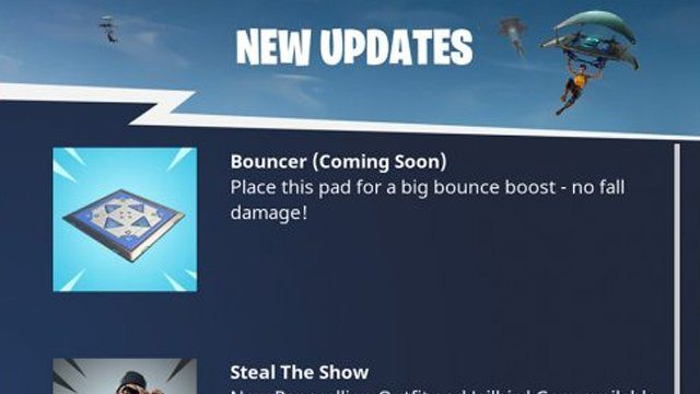 Fortnite Bouncer