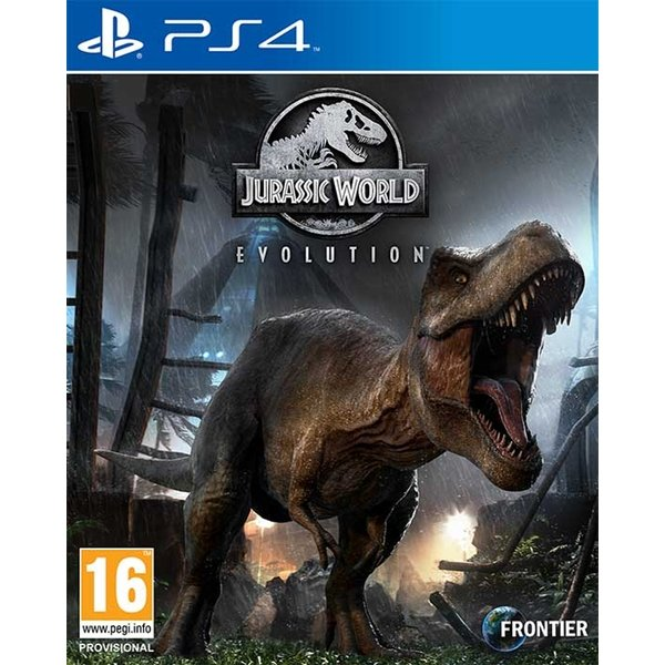 Box art - Jurassic World Evolution