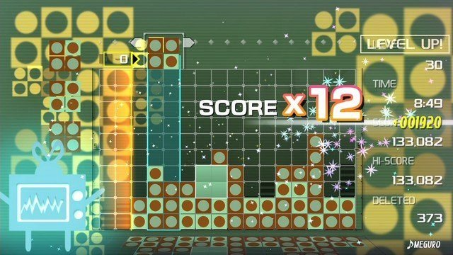 Lumines Remastered Review Meguro