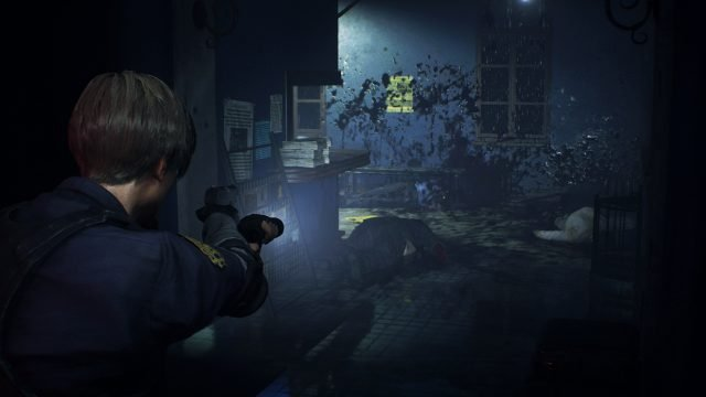 RE2 Remake East Wing First Floor