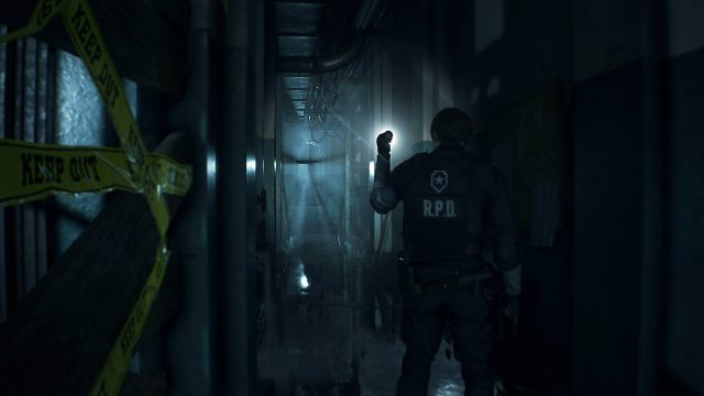 RE2 Remake West Wing First Floor