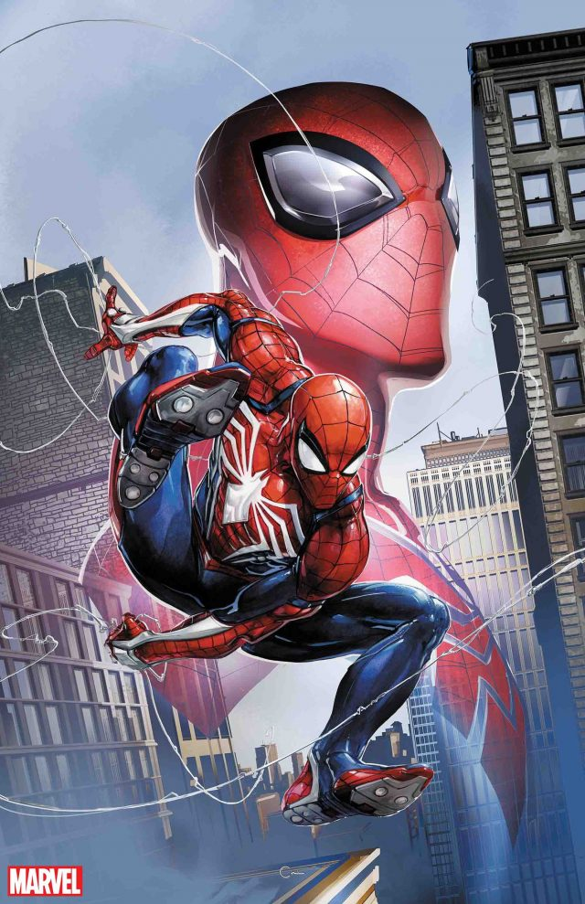 Spider-Man Insomniac PS4 Marvel Comics Spidergeddon