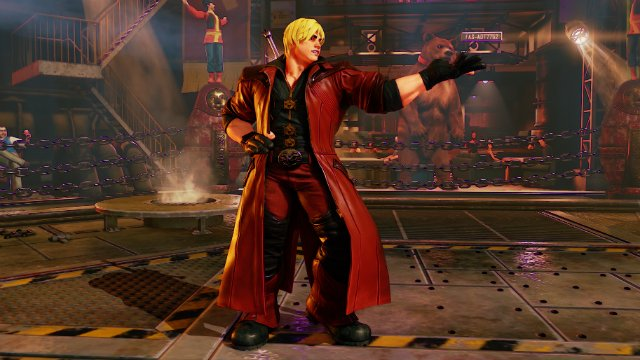 Street Fighter V Devil May Cry Dante Ken