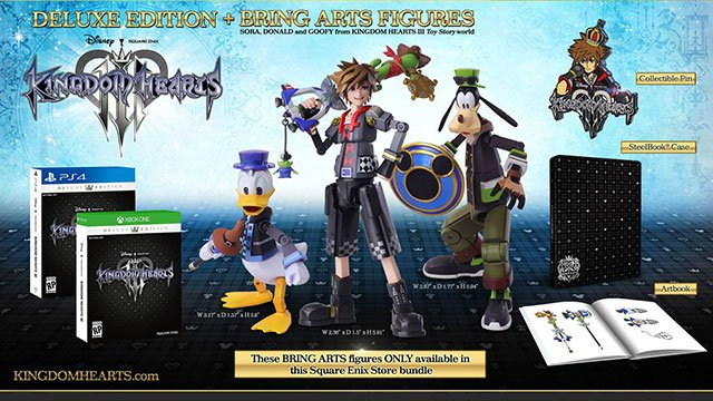 Kingdom Hearts 3 Special Editions Announced