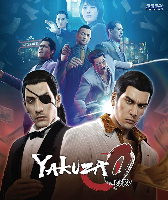 Box art - Yakuza 0