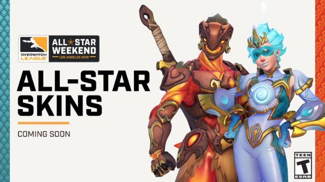 overwatch all star skins