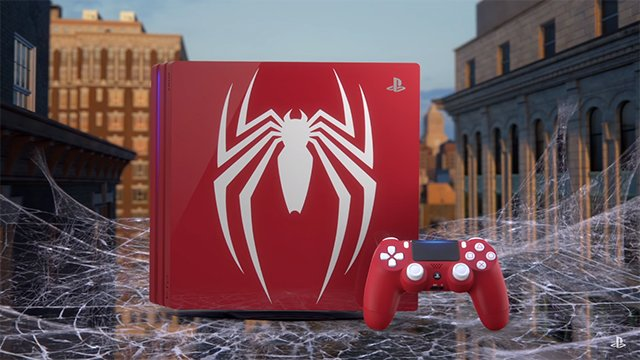 Spider Man Ps4 Pro Bundle Revealed At Comic Con With New